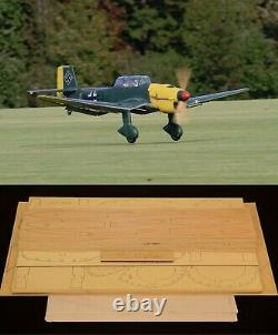 100 wingspan JU-87 STUKA R/c Plane short kit/semi kit and plans
