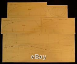 100 wingspan Supermarine Spitfire Mk-V R/c Plane short kit/semi kit and plans