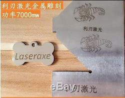 10W CNC Laser Engraver Metal Marking Machine Wood Cutter 100x100cm DIY Kit 1M1M