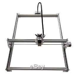 10W USB CNC Laser Engraver Metal Marking Machine Wood Cutter 50cm65cm DIY Kit