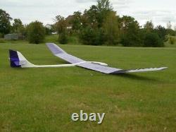 174 Ws SAGITTA XC R/c Glider Plane Partial kit/short kit and plans, PLS READ