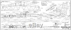 174 wing span Sagitta XC R/c Glider short kit/semi kit and plans