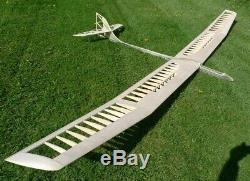 174 wing span Sagitta XC R/c Glider short kit/semi kit and plans