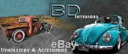 1933-47 Ford Truck withGM/Ididit Column Steering Wheel Kit Mahogany & Black Billet