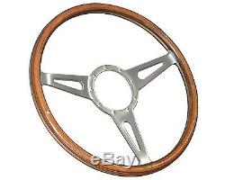 1964 1967 Ford Mustang Shelby Style Steering Wheel Kit GT-350 Emblem
