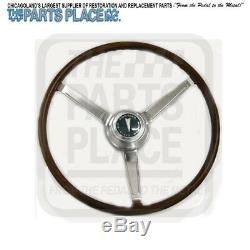 1968 GTO Lemans Wood Steering Wheel Kit New