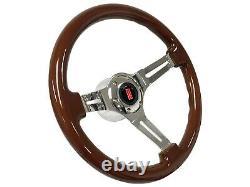 1969 1994 Oldsmobile S6 Sport Mahogany Wood Steering Wheel Kit Rocket II
