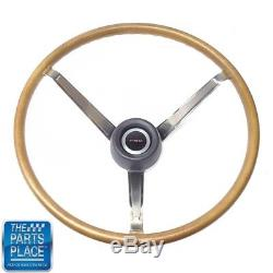 1969-72 Pontiac GTO Firebird Original Wood Steering Wheel Kit