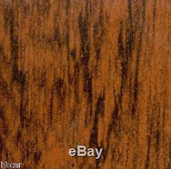 1970 1971 1972 Cutlass 442 3 Piece Wood Grain Dash Kit with Chrome Cluster Bezel