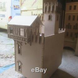 1/12 scale Dolls House Emlyn Castle signed and dated by DHD