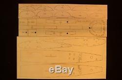 1/5.5 Scale Beechcraft KING AIR B200 Laser Cut Short Kit & Plans, 120 in. WS
