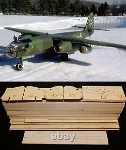 1/6 scale ARADO AR-234 B1 R/c Plane short kit/semi kit and plans