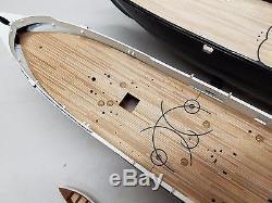 1/96 USS Kearsarge Wood Deck (fits Revell kit) by Scaledecks. Com