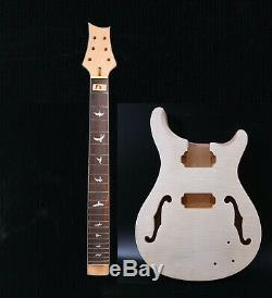 1set Electric Guitar Kit Guitar Neck 22fret Guitar Body Replacement Solid wood