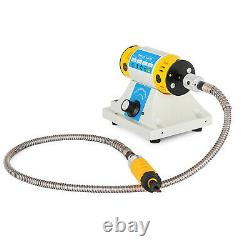 220V Electric Chisel Carving Tools Wood Chisel Carving Machine Kit& 4 Blades