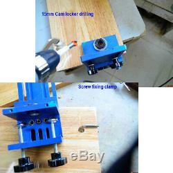 28pcs Universal Dowel Kit Pro Wood Set Drill Point Pin Jig Drills Centre Points