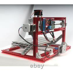 3018 CNC Machine Router 3Axis Engraving PCB Wood Carving DIY Milling Kit Sliver