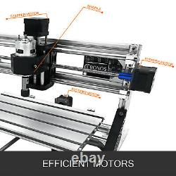 3 Axis CNC Router Kit 3018 500MW For Wood USB Port Injection Molding Material