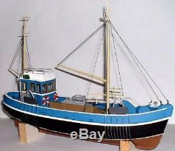 45ft Fishing Trawler Boat Ship O Scale 143 UNPAINTED Kit OM1a Langley Models