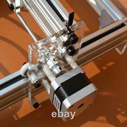 500MW DC 12V DIY Mini Laser Engraving Cutting Machine Desktop Printer Kit