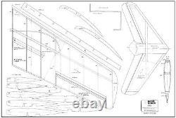 50 wing span Mig 15 R/c Plane short kit/semi kit and plans