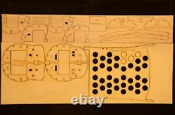 50 wingspan Embraer ERJ-145 R/c Plane short kit/semi kit and plans, EDF