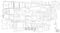 63 wingspan Utimate Bipe R/c Plane short kit/semi kit and plans