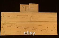 65 wingspan Ugly Stick R/c Trainer Plane short kit/semi kit and plans