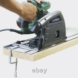 6-1/2 Plunge Cut Circular Saw Kit with 110 Guide Track 10 amp Corded Fast Ship