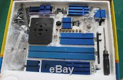 6 in 1 Metal Material Machine DIY Tool Kit Wood Metal Lathe Milling Drilling