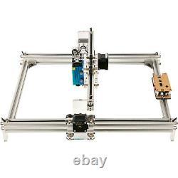 7000MW Mini CNC 3040 laser Engraver kit Gray Engraving Router Wood Plastic US