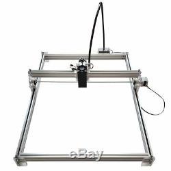 7000mW USB CNC Laser Engraver Metal Marking Machine Wood Cutter 50x65cm DIY Kit