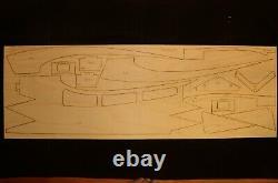 72 wingspan Turbinator R/c Sport Jet Plane short kit/semi kit and plans