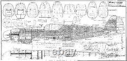 78.5 wing span Messerschmitt BF-109G R/c Plane short kit/semi kit and plans