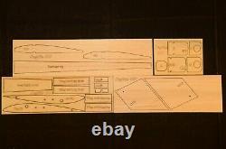 79 Ws Sagitta 600 R/c Glider Plane Partial kit/short kit and plans, PLS READ