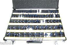 80 pc 1/4 Shank Tungsten Carbide Router Bit set Woodworking tool kit CMT