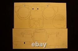 80 wing span F14 Tomcat R/c Plane short kit/semi kit and plans, Sweep Wing
