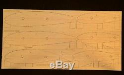 81 wing span Horten Ho. IX V3 R/c plane short kit/semi kit and plans, Ducted Fan