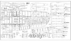 82 Wingspan F4U CORSAIR R/c Plane partial kit/short kit and plans, PLS READ