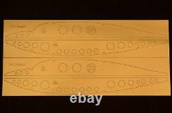 96 in. Wing span B-2 Spirit R/c Plane short kit/semi kit and plans, EP
