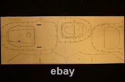 98 wingspan P-51D Mustang R/c Plane short kit/semi kit and plans