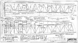 99 wingspan Sagitta 900 R/c Glider short kit/semi kit and plans