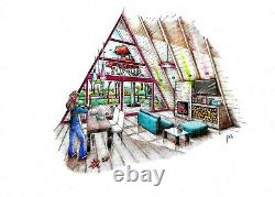 A-FRAME 26 x 34 Customizable Shell Kit Home, delivered ready to build