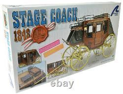 Artesania Latina 1848 Wood Stage Coach 110 Wooden Model Kit 20340