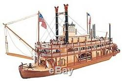 Artesania Latina 20505 Mississippi Paddle Steamer Wooden Boat Kit 180