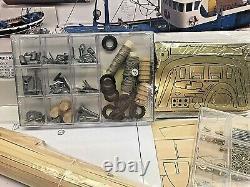 Artesania Latina Marina II Tuna Fishing Boat Wood Model Kit 125 NEW Open Box
