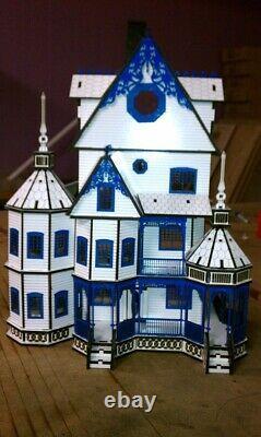 Ashley Gothic Victorian Dollhouse Kit Quarter Scale 148