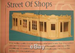 BAY WINDOW SHOP KIT - by Houseworks 9992 unfinished wood 1/12 scale dollhouse