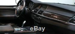 BMW Brand OEM E70 E70 LCI X5 2007-2013 Burr Walnut Wood Interior Trim Kit New
