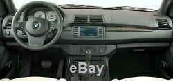 BMW Genuine OEM E53 X5 2000-2006 Smoke Grey Poplar Wood Trim Kit NEW LHD Only